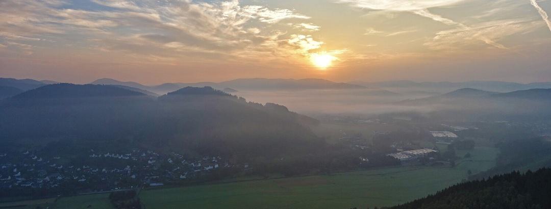 Blick vom Entenberg
