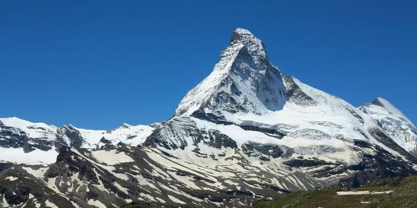 Blick auf das symbolträchtige Matterhorn