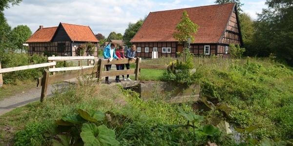 Der Weg startet am Heimatmuseum auf der Venner Mühleninsel