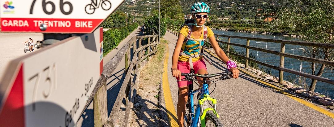 Bike Garda Trentino - Richtung Arco