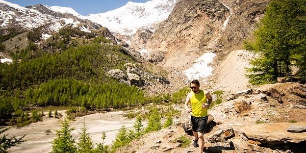 Trailrunning im Saastal (Imagebild)