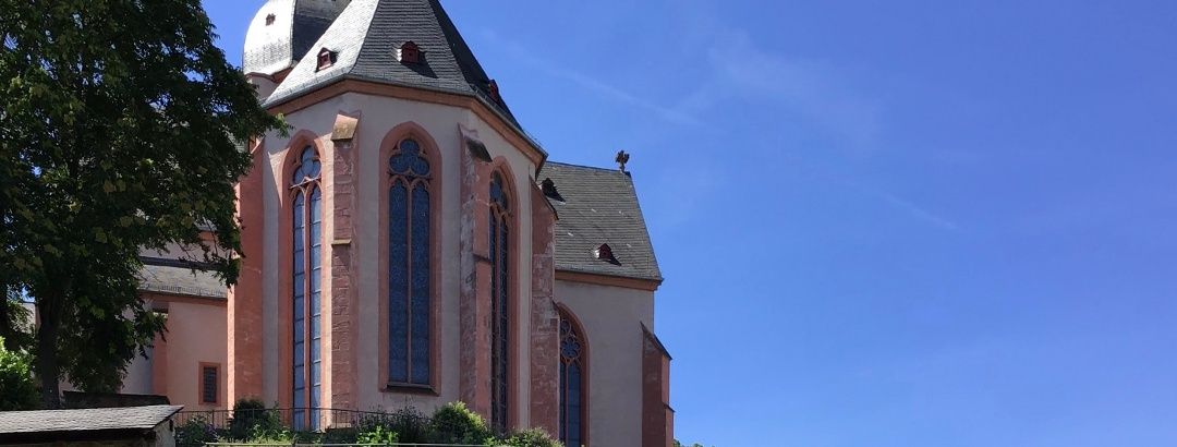 Schleifenroute - Mainz Kirche St. Stephan