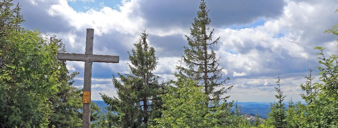Siebensteinkopf Gipfelkreuz
