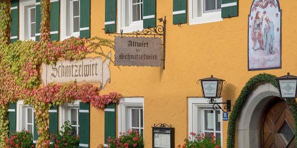 Gasthaus Altwirt: der Schnitzelwirt in Anger