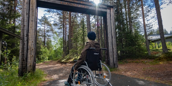 Napapiirin Nopia -trail takes hiker to the first section of the legendary Karhunkierros trail.