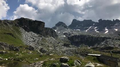Aussicht aus der Leglerhütte