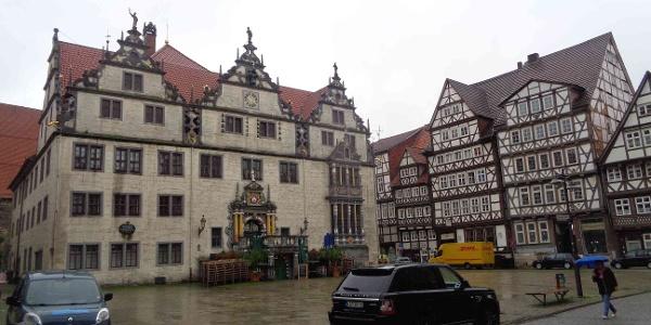 Rathaus in Hann. Münden (Juni 2019)