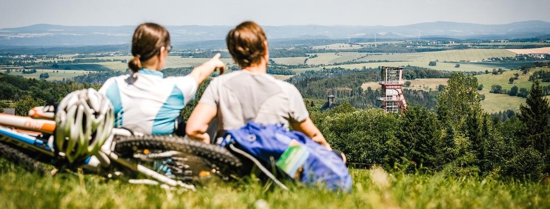 Radfahren in der Urlaubsregion Altenberg