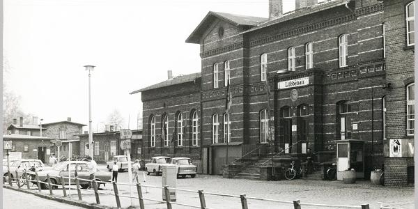 Tafel 7: Bahnhof Quelle: Lübbenaubrücke
