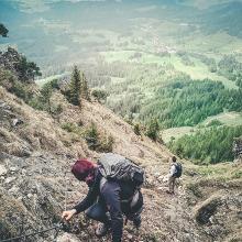 Abstieg Unterjoch