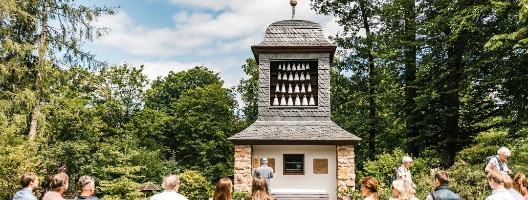 Sommer genießen in der Urlaubsregion Altenberg - Glockenspiel Bärenfels