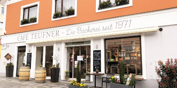 Bäckerei Teufner in der Wienerstraße in Melk