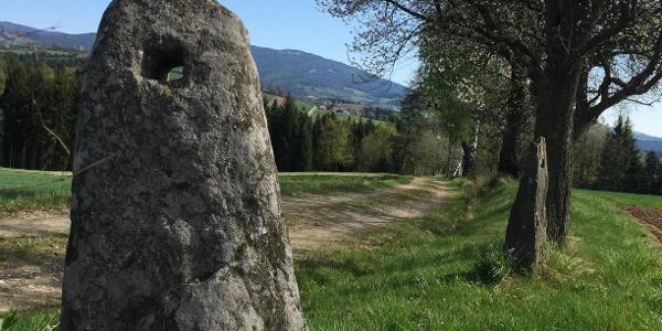Lochstein in Riegersbach