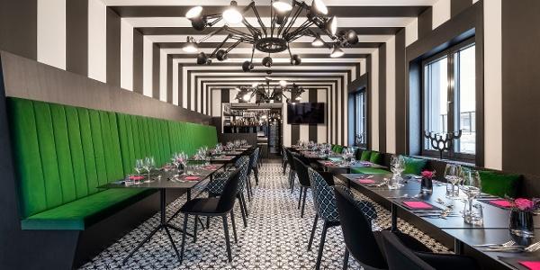 Restaurantbereich Grüner Salon