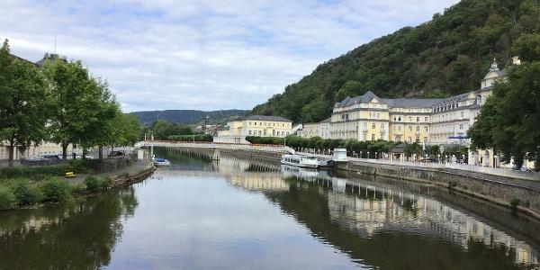 Schleifenroute - Bad Ems Uferprommenade