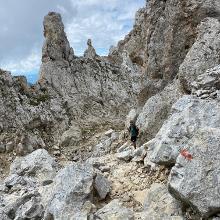 Sentiero per Rifugio Oberholz