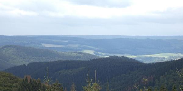 Blick vom Hunaukamm nach Norden