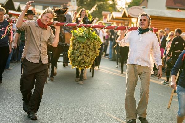 Weinfest Radebeul Eröffnung Kalebstraube