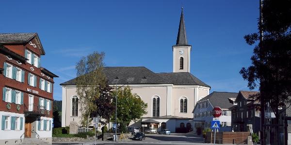 Alberschwende, Katholische Pfarrkirche Heiliger Martin 2