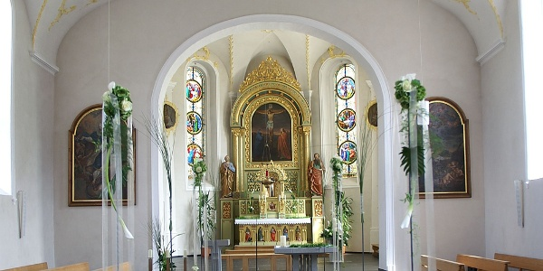 Andelsbuch, Katholische Pfarrkirche Heilige Petrus und Heiliger Paulus 1