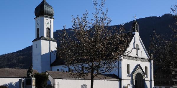 Andelsbuch, Katholische Pfarrkirche Heilige Petrus und Heiliger Paulus 3