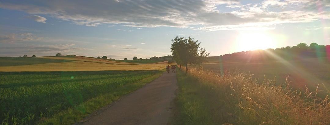 Radfahren in Kraichtal