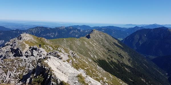 Blick auf Kuchelbergkopf und Kuchelbergspitz