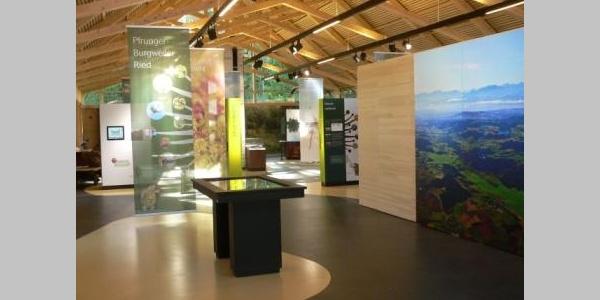 Ausstellungsraum Naturschutzzentrum