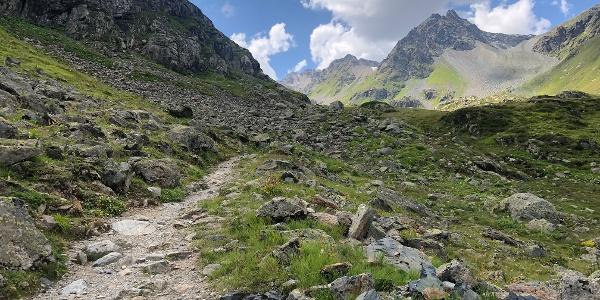 Aufstieg Scalettapass1