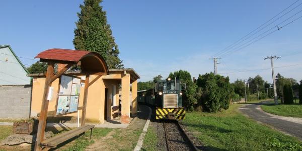 Csömödéri Állami Erdei Vasút (Páka megállóhely)