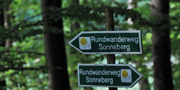 Rundwanderweg Sonneberg   Wegweiser