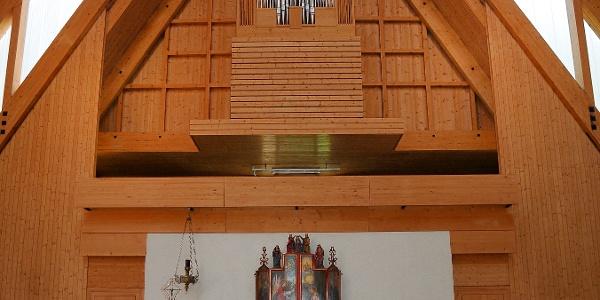 Brand, Katholische Pfarrkirche Mariä Himmelfahrt 2