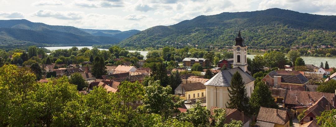 Visegrád és a Dunakanyar a Viktorin-sétányról