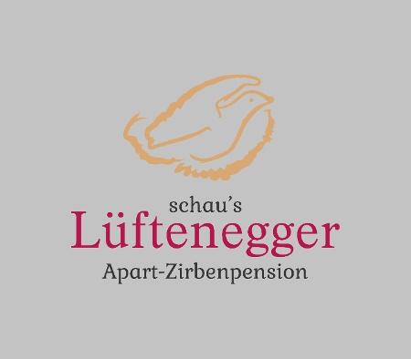 Logo Lüftenegger - Zirbenpension, Appartementhaus und Ferienhaus