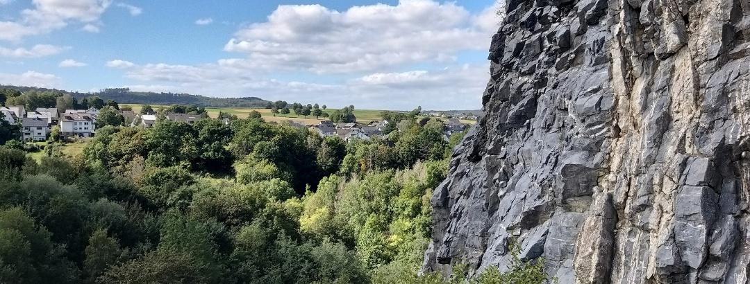 Blick vom Hillenberg in Richtung Warstein