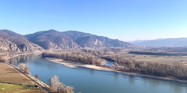 Die Donau von der Achleiten