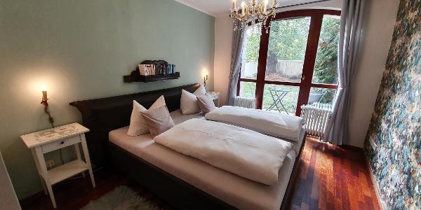 Schlafzimmer Ferienwohnung Haus Elbling