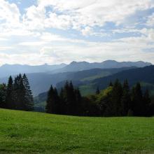 Blick von Lorena nach Süden