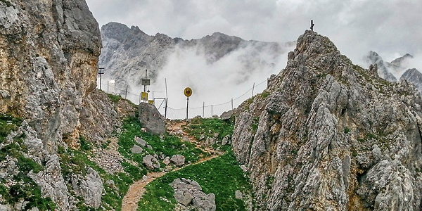 Das Gatterl: Grenze Österreich - Deutschland