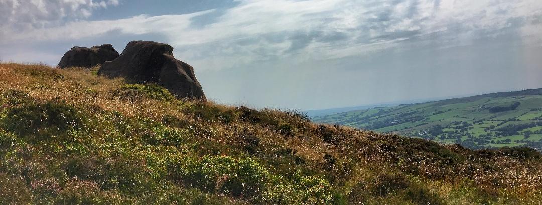 The roaches, Peak District, England