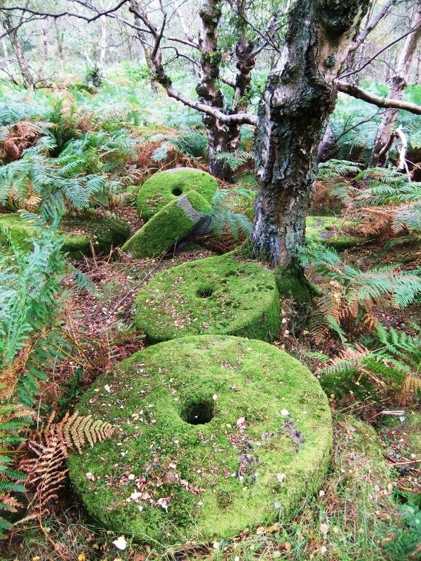 Millstones at Heathersage, Peak District