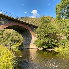 Eisenbahnbrücke über die Nahe