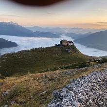 Blick auf das watzmannhaus