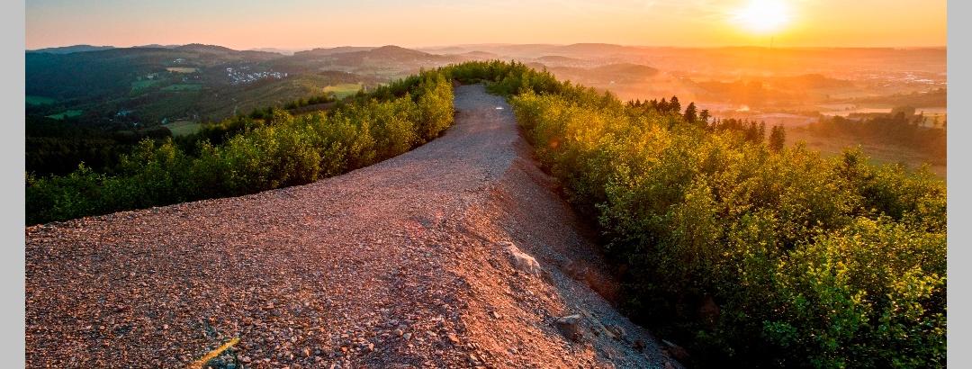 Aussicht Geologische Sprung
