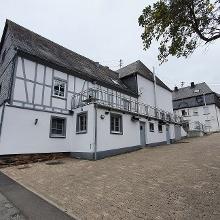 Hier dann die Rückseite der früheren Wahlenauer Mühle, heute eine Gaststätte