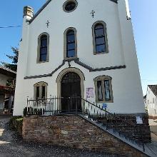 Die ehemalige Synagoge mit einem kleinen Museum, Anmeldung ist nötig