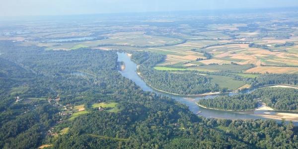Mura-Drava confluence