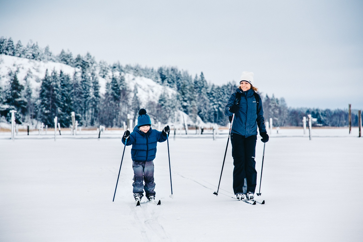 Langlaufen in der Helsinki-Region
