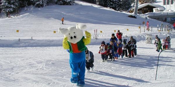 Übungsgelände Skischule Geils