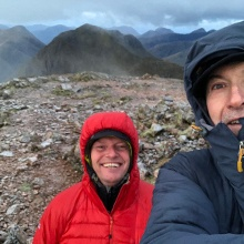 Windy on the Buachaille